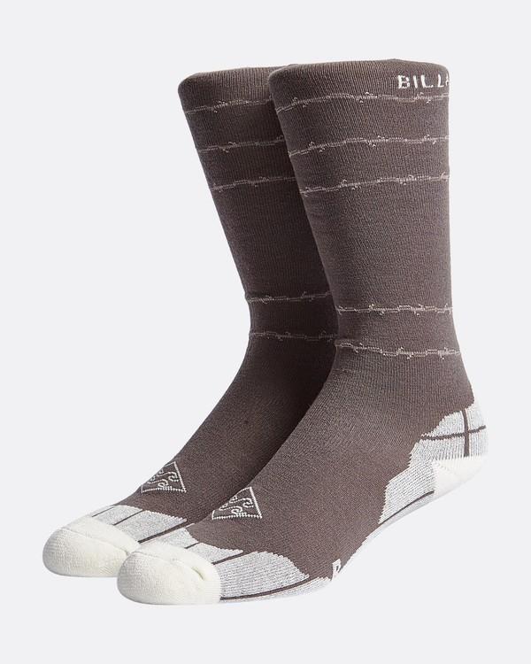 0 Sundayss - Sundays Snow Socks for Men Grey Q6SO01BIF9 Billabong