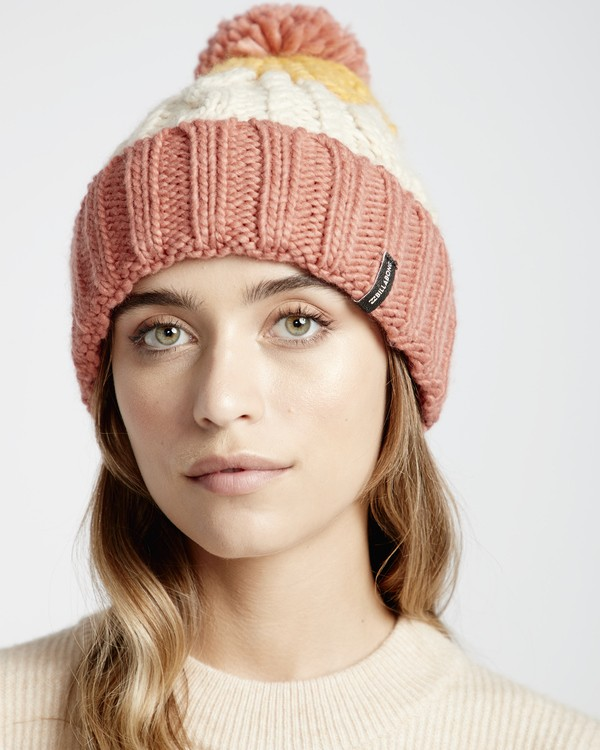 0 Headsss - Gorro para Nieve para Mujer Rosa Q9BN02BIF9 Billabong