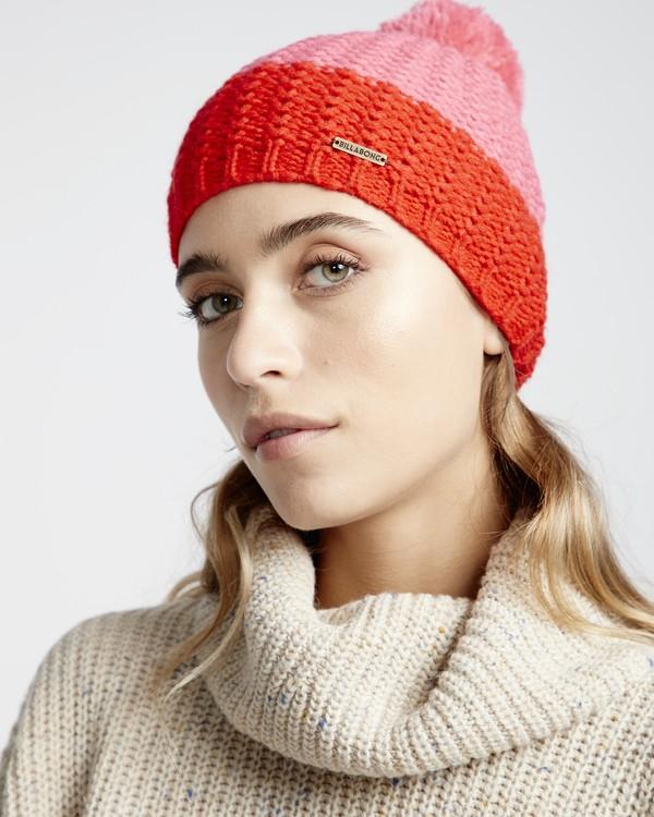0 Hoodoo - Snow Beanie für Frauen Rot Q9BN06BIF9 Billabong