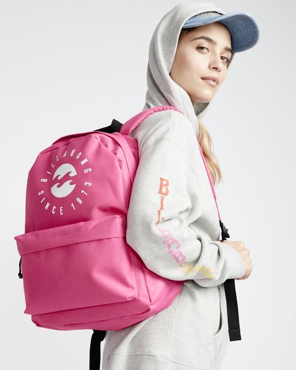 0 Hyde - Mochila para Mujer Rosa Q9BP02BIF9 Billabong