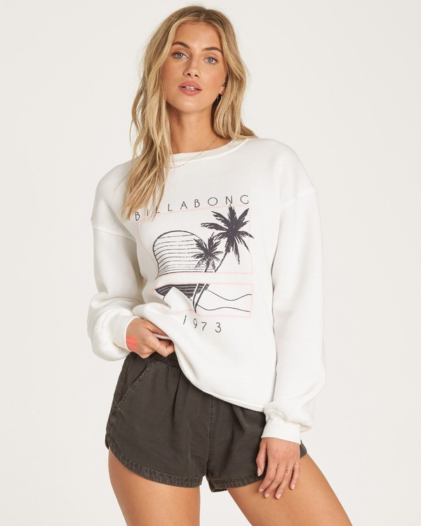 0 Bask In The Sun - Sweatshirt für Frauen  R3CR01BIW9 Billabong