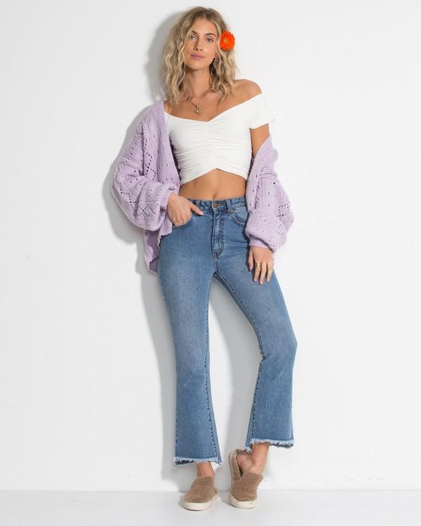 0 Cheeky - gerade Jeans für Frauen Violett R3PN01BIW9 Billabong