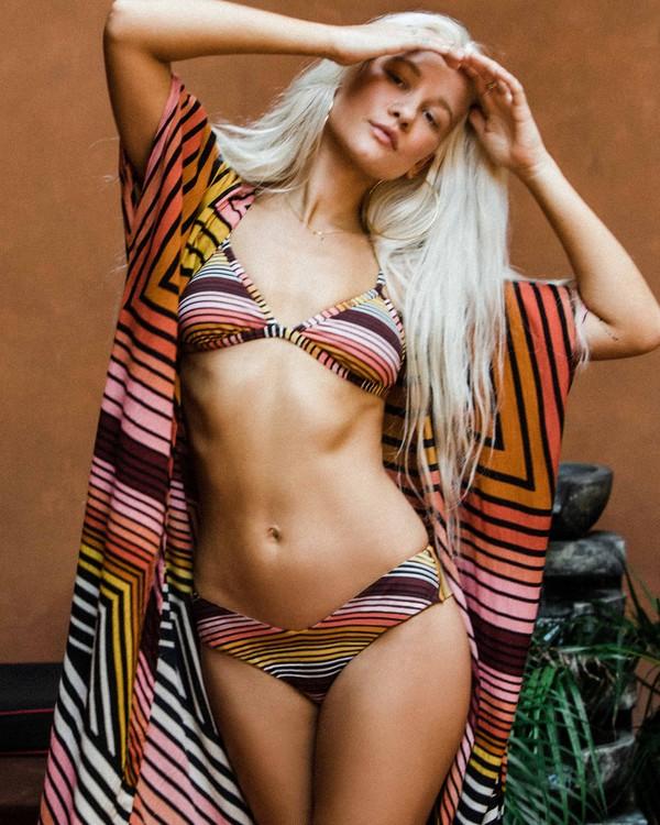 0 Sun Fall - Braguita de bikini de tiro alto de corte Fiji para Mujer  R3SB11BIMU Billabong