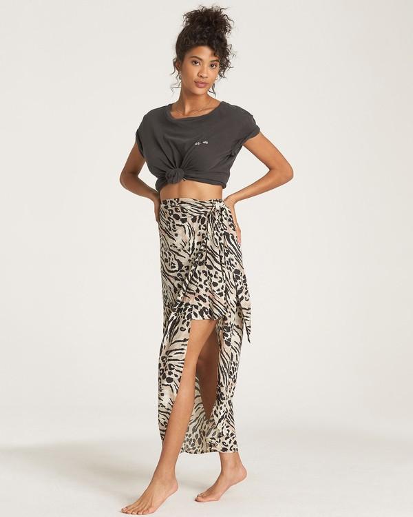 0 Sun Safari - Midi Skirt Multicolor R3SK01BIW9 Billabong