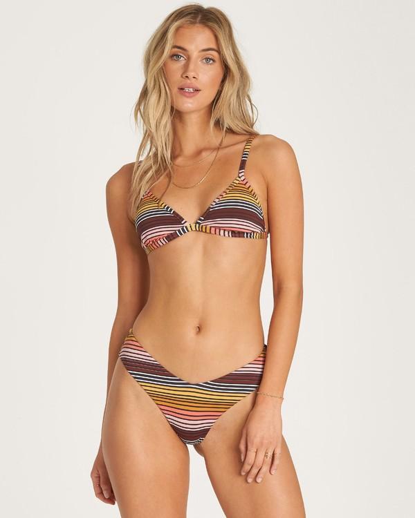 0 Sun Fall - Top de Tri Bikini Fijo para Mujer  R3ST11BIMU Billabong