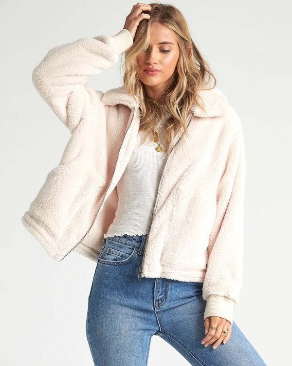 0 Always Cozy - Polarfleece-Jacke für Frauen  R3WA05BIW9 Billabong