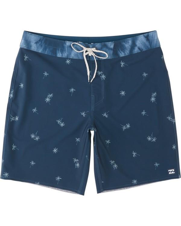 "0 Sundays Mini Pro 19"" - Printed Board Shorts for Men Blue S1BS34BIP0 Billabong"