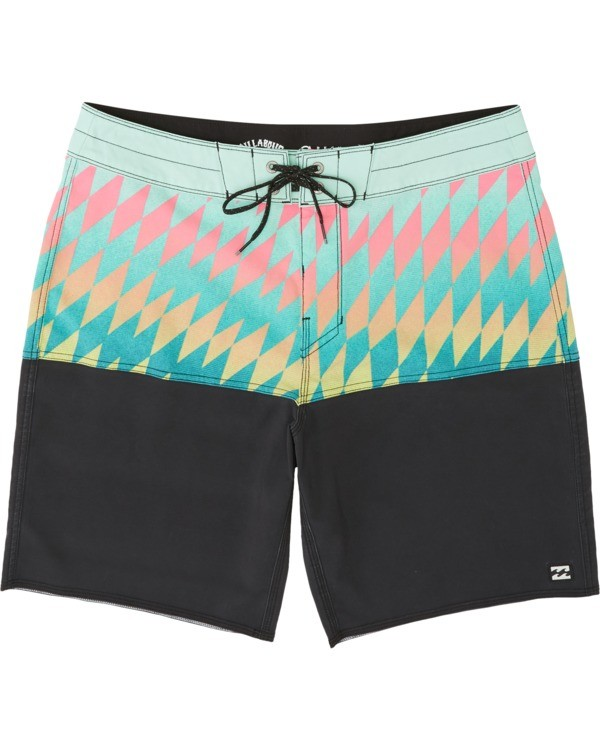 "0 Fifty 50 Pro 19"" - Printed Board Shorts for Men Blue S1BS39BIP0 Billabong"
