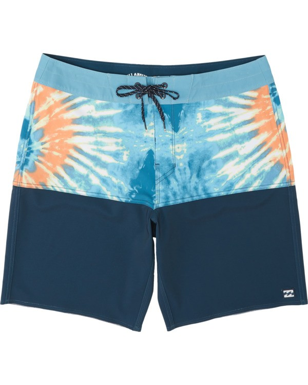 "0 Fifty 50 Pro 19"" - Printed Board Shorts for Men Multicolor S1BS39BIP0 Billabong"
