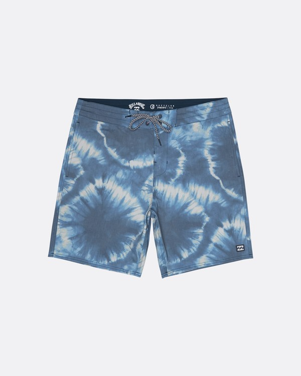"0 All Day Riot 19"" - Batik-Boardshorts für Herren Violett S1BS53BIP0 Billabong"