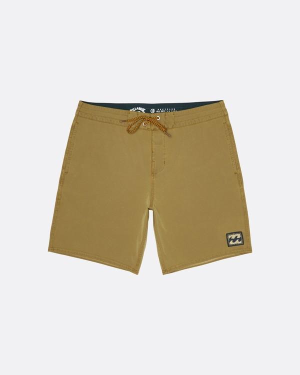 "0 All Day 19"" - Board Shorts for Men Yellow S1BS54BIP0 Billabong"