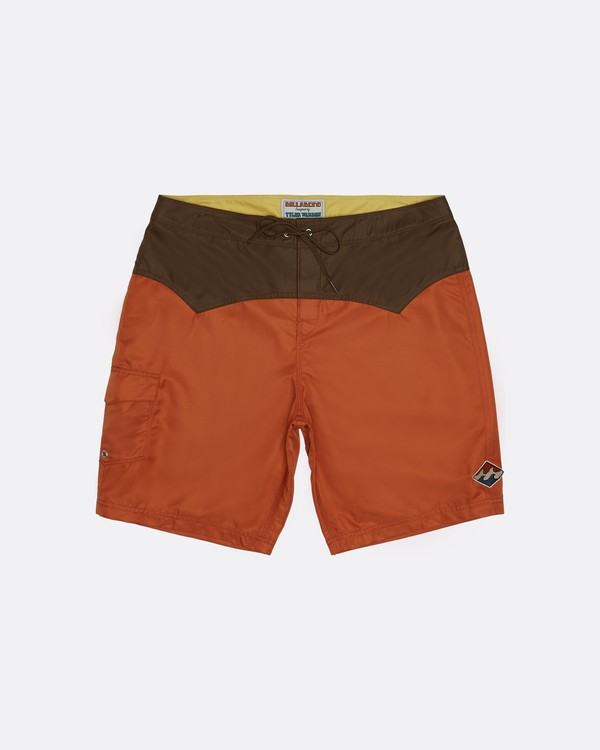 "0 Western Boadshort 19"" - Board Shorts for Men Orange S1BS65BIP0 Billabong"