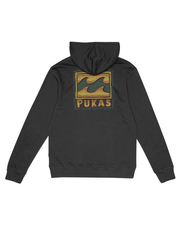 0 Pukas Collab Po - Sweatshirt für Herren Schwarz S1HO23BIP0 Billabong