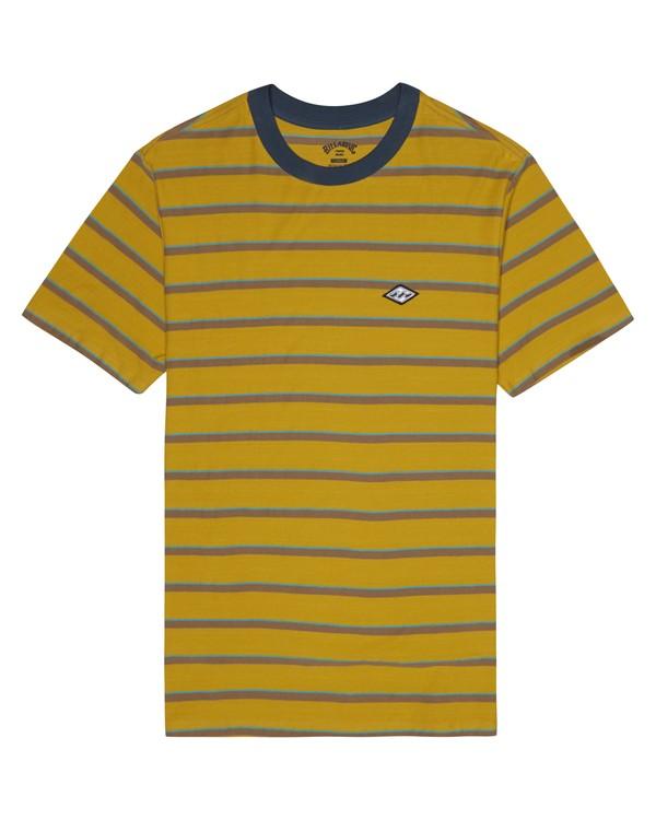 0 Die Cut - T-Shirt à rayures pour Homme Argent S1JE06BIP0 Billabong