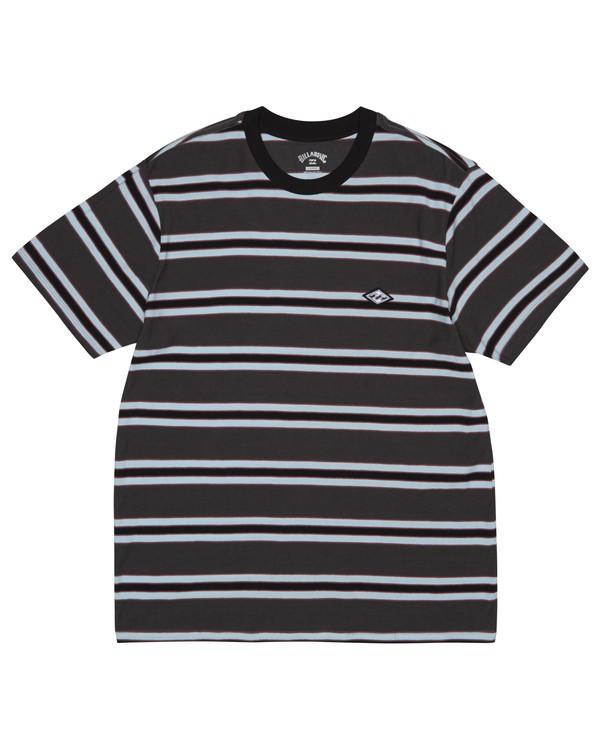 0 Die Cut - T-Shirt à rayures pour Homme Noir S1JE06BIP0 Billabong