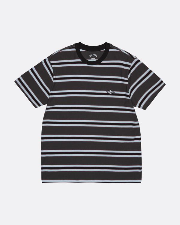 0 Die Cut - Gestreiftes T-Shirt für Herren Schwarz S1JE06BIP0 Billabong