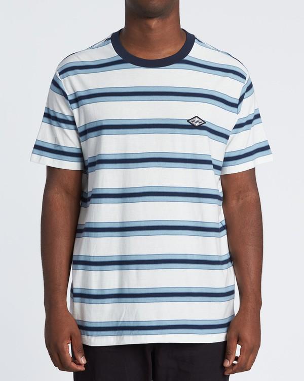 0 Die Cut - Gestreiftes T-Shirt für Herren Weiss S1JE06BIP0 Billabong
