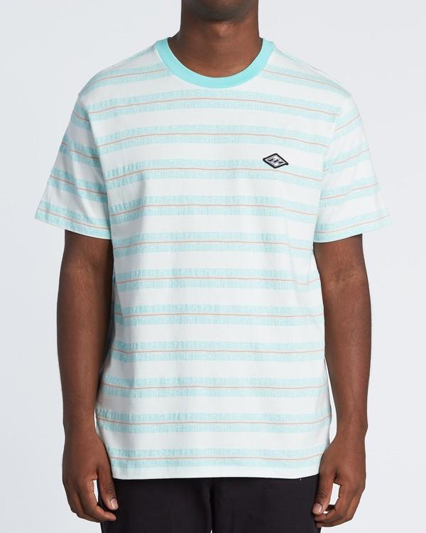 0 Combers - Camiseta de rayas para Hombre Blanco S1JE07BIP0 Billabong