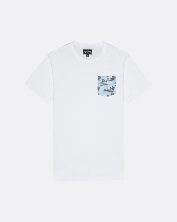 0 Allday Printed - T-Shirt für Herren Weiss S1JE16BIP0 Billabong