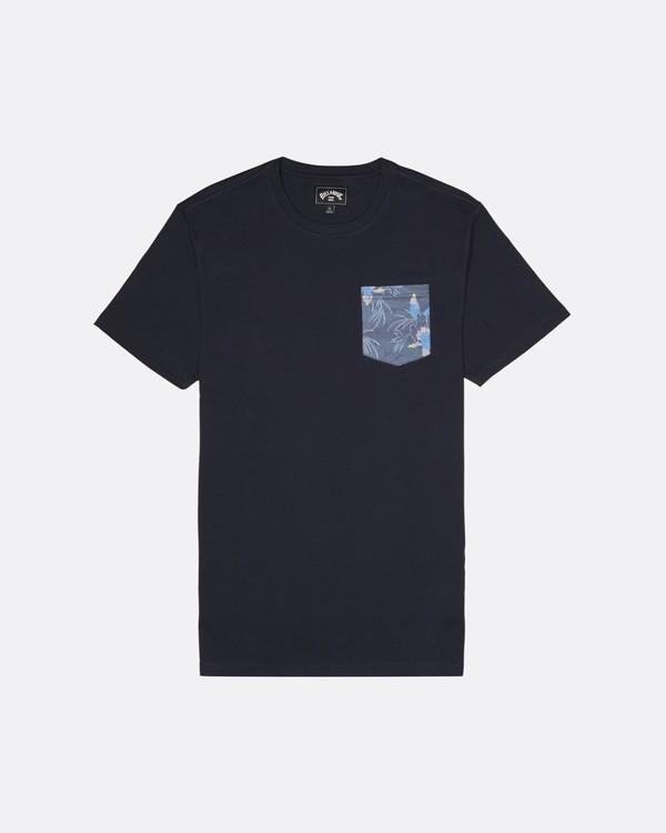 0 Allday Printed - Camiseta para Hombre Azul S1JE16BIP0 Billabong