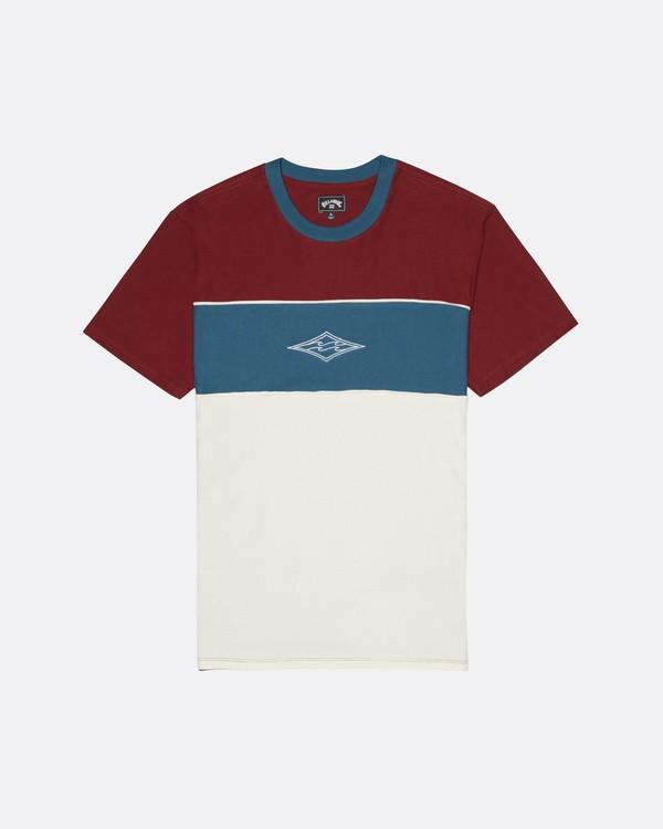 0 Bender - T-Shirt for Men Red S1JE20BIP0 Billabong