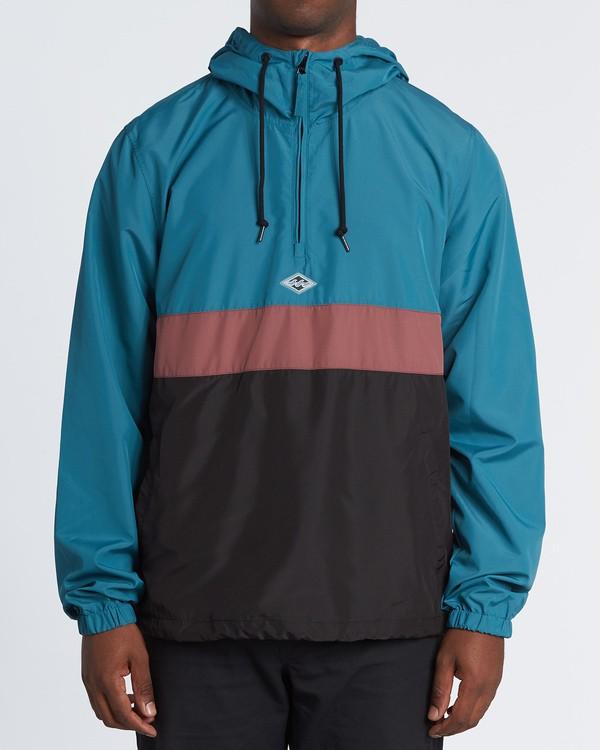 0 Wind Swell Anorak - Jacke für Herren Schwarz S1JK03BIP0 Billabong