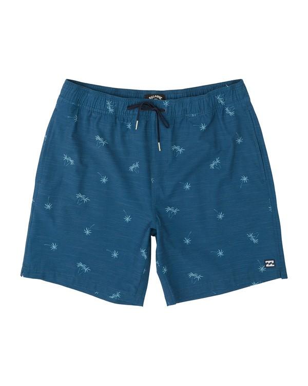 "0 Sundays Stretch Laybacks 16"" - Board Shorts for Men Purple S1LB03BIP0 Billabong"