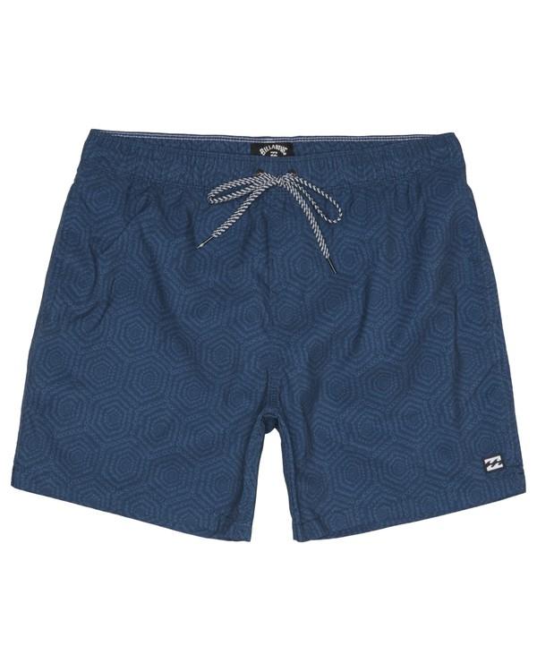 "0 Sundays Laybacks 16"" - Board Shorts for Men Blue S1LB04BIP0 Billabong"