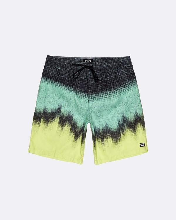 "0 Resistance Laybacks 19"" - Board Shorts for Men Yellow S1LB08BIP0 Billabong"