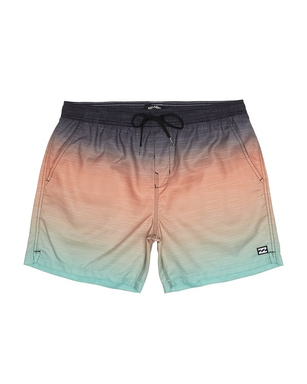 "0 All Day Faded Laybacks 16"" - Board Shorts for Men Green S1LB09BIP0 Billabong"
