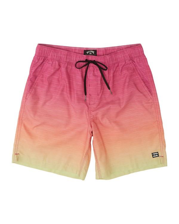"0 All Day Faded Laybacks 16"" - Board Shorts for Men Orange S1LB09BIP0 Billabong"