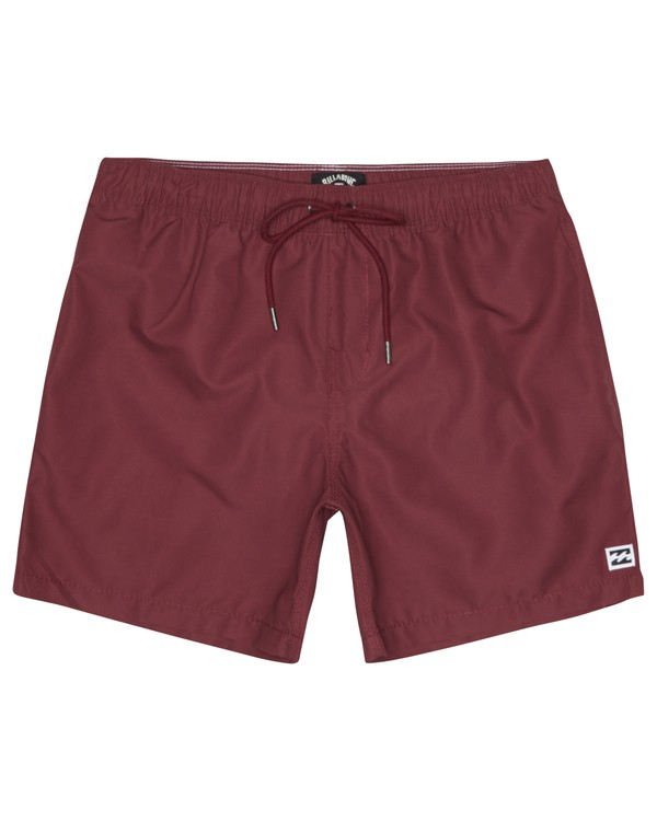 "0 All Day Laybacks 16"" - Board Shorts for Men Red S1LB12BIP0 Billabong"