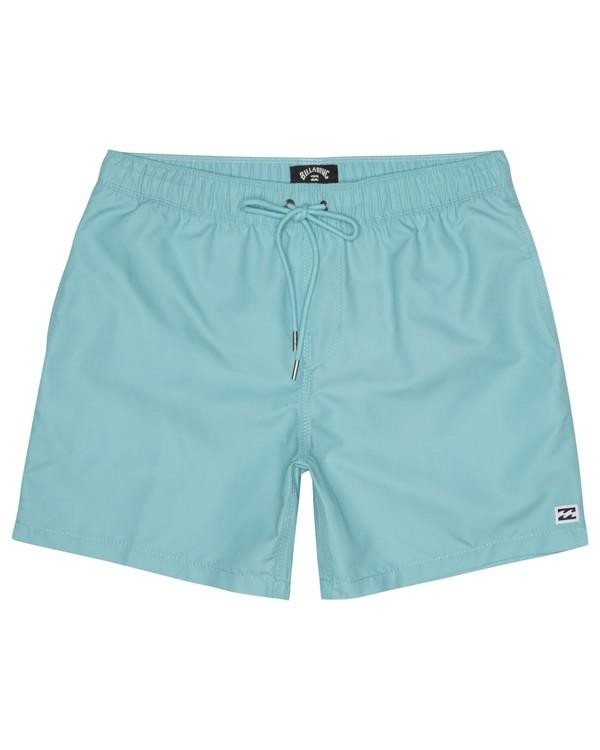"0 All Day Laybacks 16"" - Board Shorts for Men Blue S1LB12BIP0 Billabong"