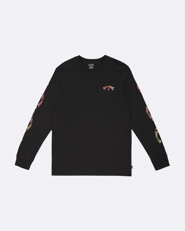 0 Arch - Camiseta de manga larga para Hombre Negro S1LS14BIP0 Billabong