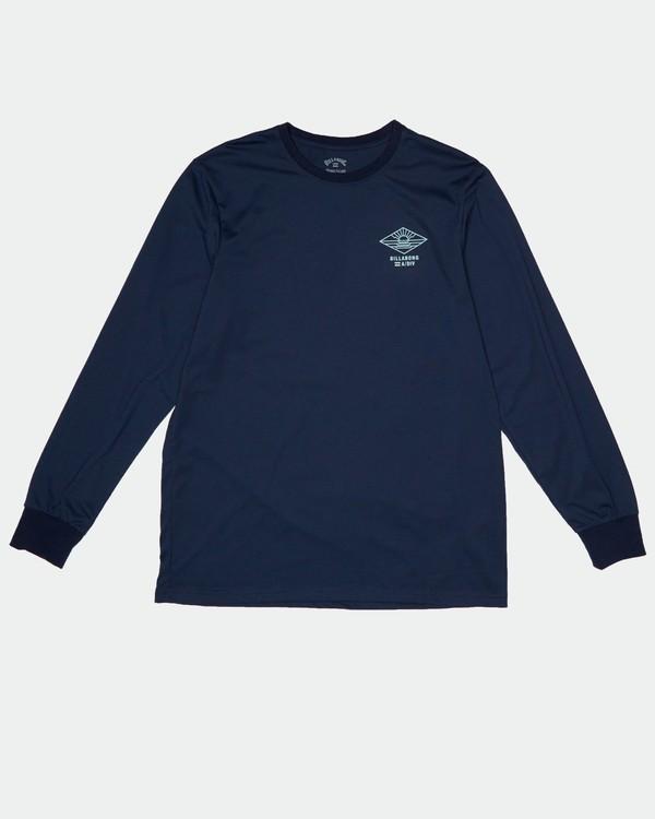 0 A Frame - Camiseta de manga larga para Hombre Azul S1LS17BIP0 Billabong