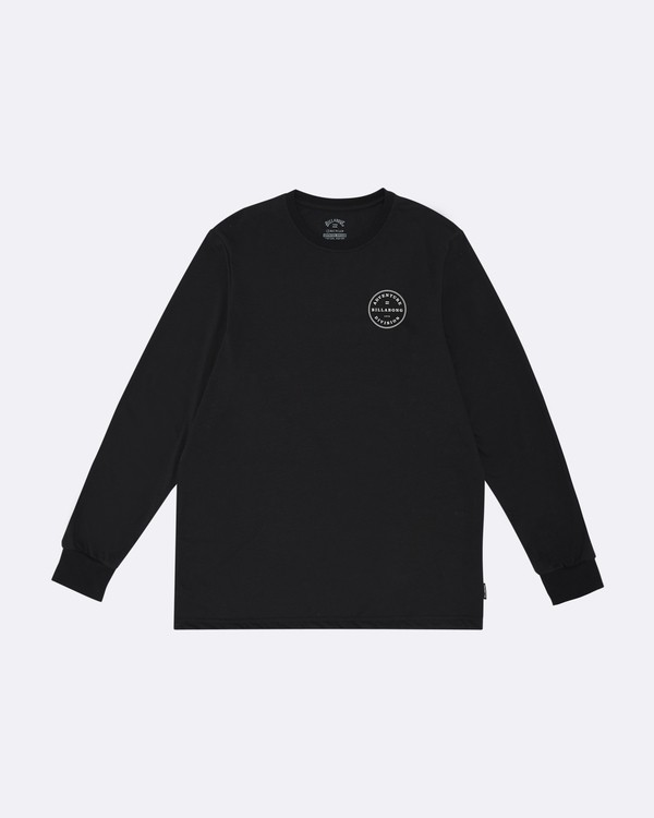 0 Rotor Adiv - Camiseta de manga larga para Hombre Negro S1LS18BIP0 Billabong