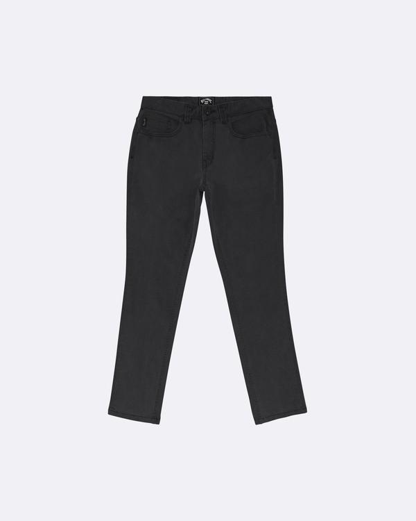 0 Outsider - Schmale Slim Fit Jeans für Herren Schwarz S1PN01BIP0 Billabong