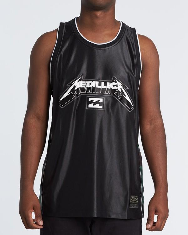 0 Metallica AI - Tank-Top für Herren Schwarz S1SG14BIP0 Billabong