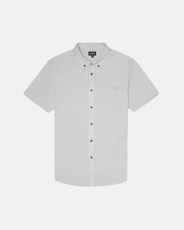 0 All Day - Camisa de manga corta para Hombre Gris S1SH01BIP0 Billabong