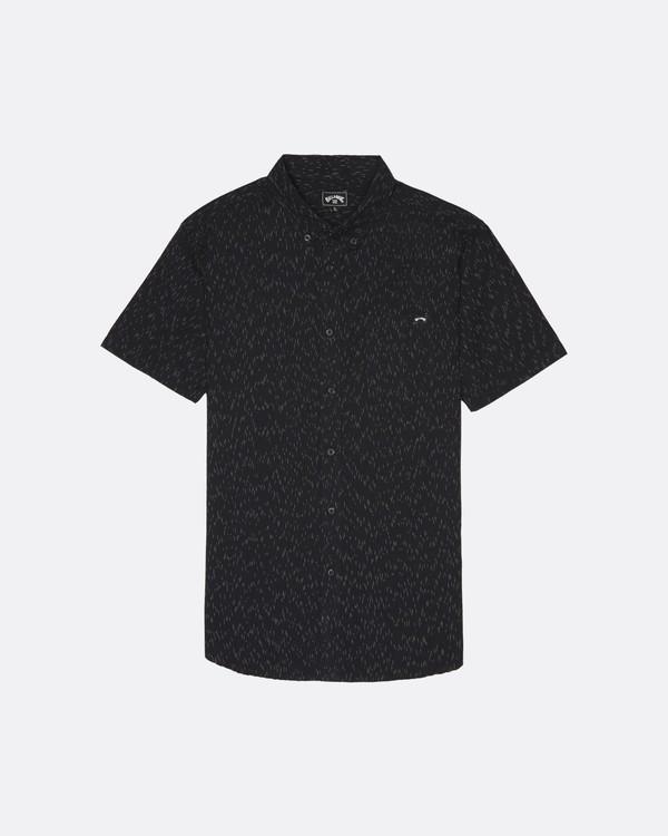 0 All Day - Camisa de manga corta para Hombre Negro S1SH01BIP0 Billabong