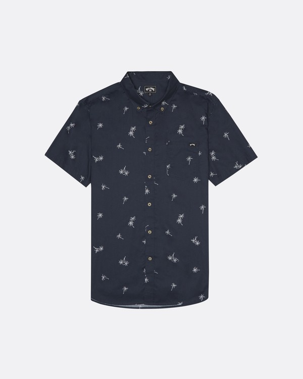 0 Sundays Mini - Kurzärmeliges Hemd für Herren Blau S1SH04BIP0 Billabong