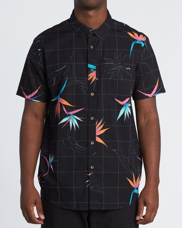 0 Sundays Floral - Kurzärmeliges Hemd für Herren  S1SH05BIP0 Billabong
