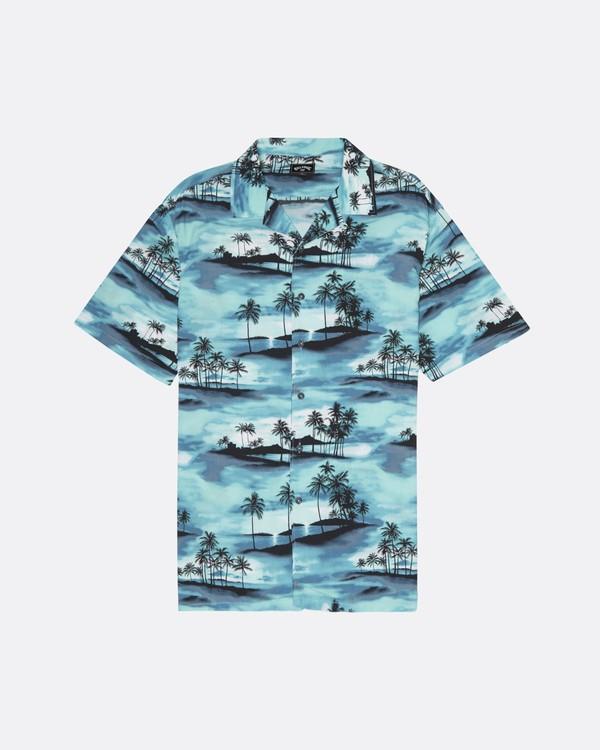 0 Vacay - Kurzärmliges Hemd für Männer Blau S1SH14BIP0 Billabong