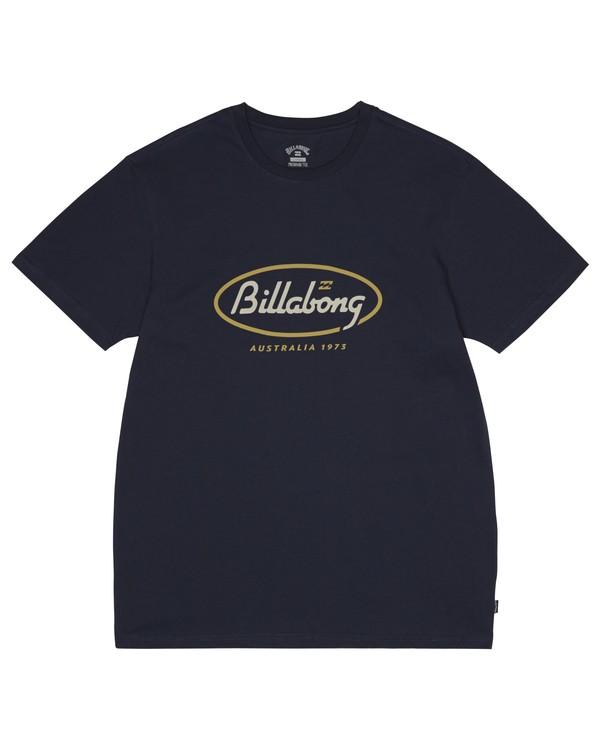 0 State Beach - T-Shirt for Men Blue S1SS03BIP0 Billabong