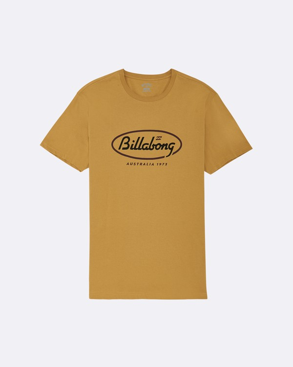 0 State Beach - Camiseta para Hombre Plateado S1SS03BIP0 Billabong