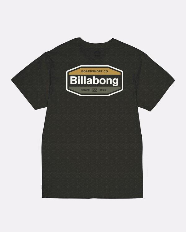 0 Gold Coast - Camiseta para Hombre Negro S1SS09BIP0 Billabong