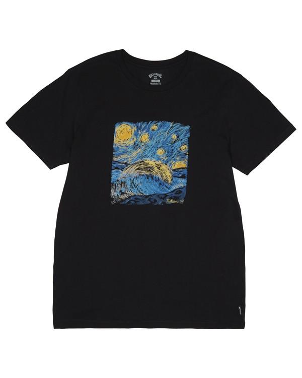0 Night Session - T-Shirt pour Homme Noir S1SS14BIP0 Billabong