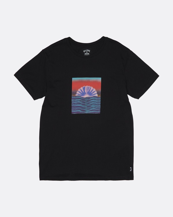 0 Sunset Tripper - Camiseta para Hombre Negro S1SS17BIP0 Billabong