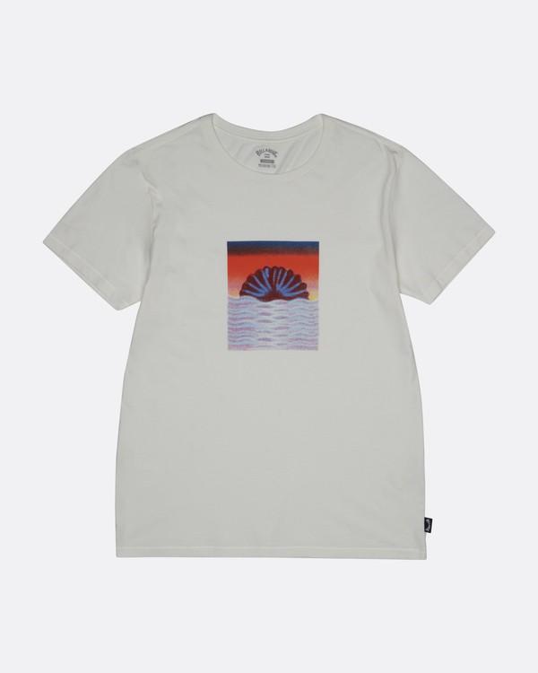 0 Sunset Tripper - Camiseta para Hombre Blanco S1SS17BIP0 Billabong