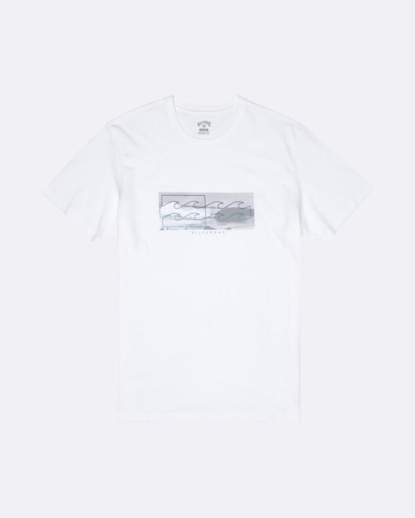 0 Inverse - T-Shirt für Herren Weiss S1SS28BIP0 Billabong